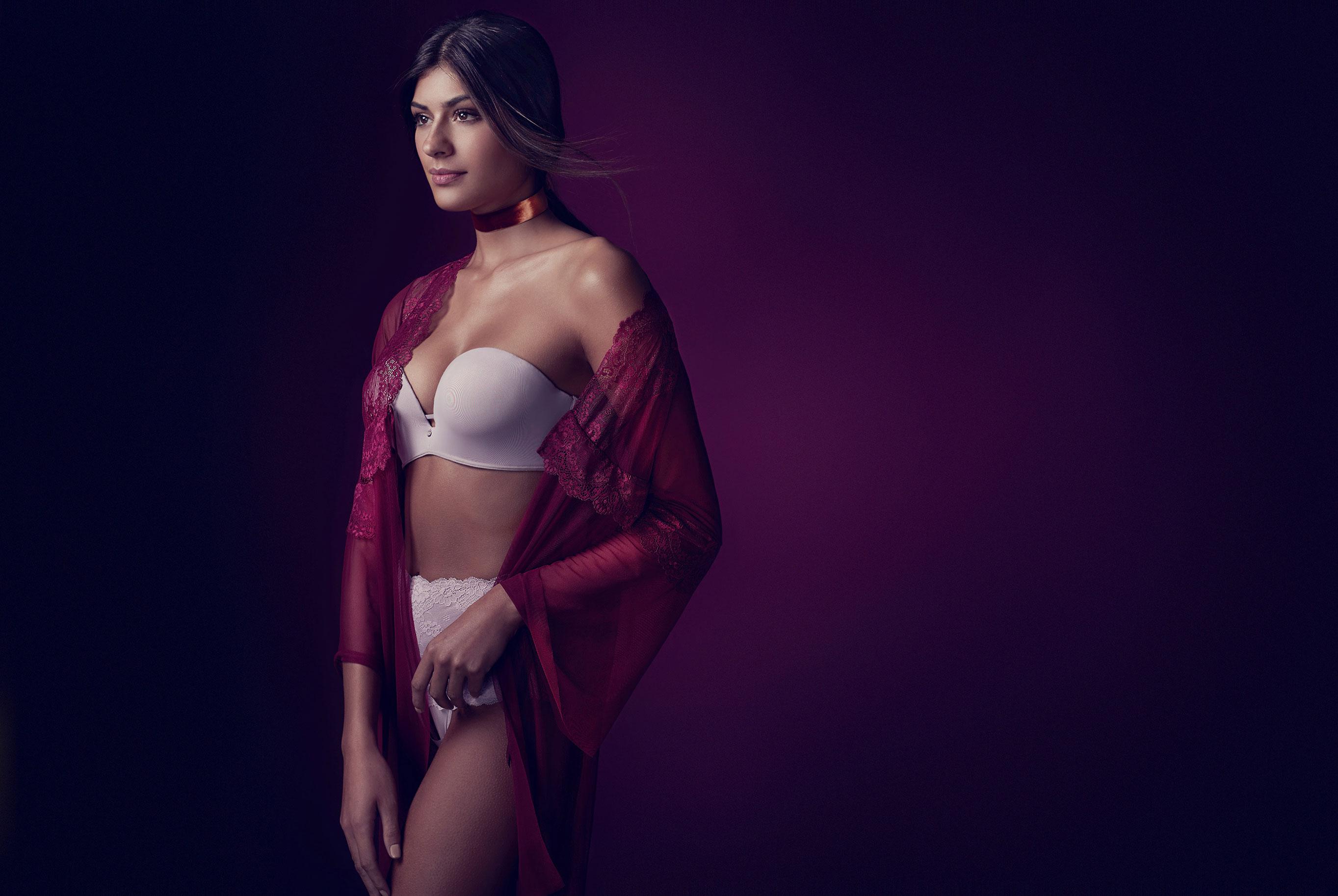 Талита Пирез в нижнем белье Agua Fresca / фото 01