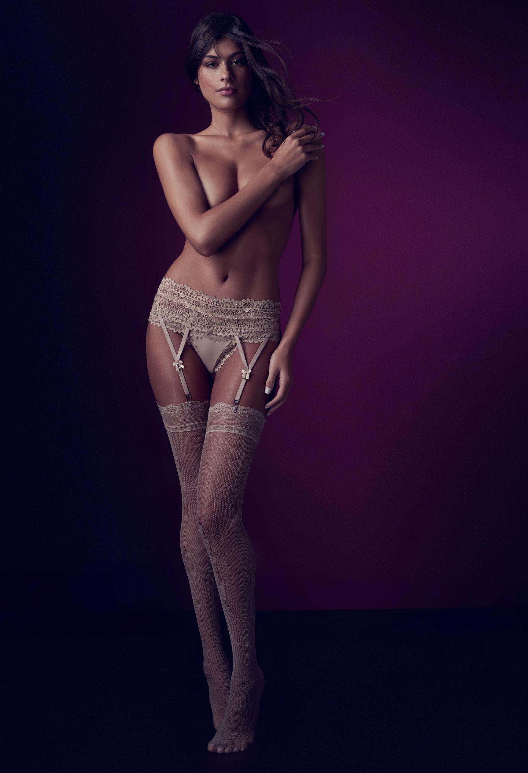 Талита Пирез в нижнем белье Agua Fresca / фото 04