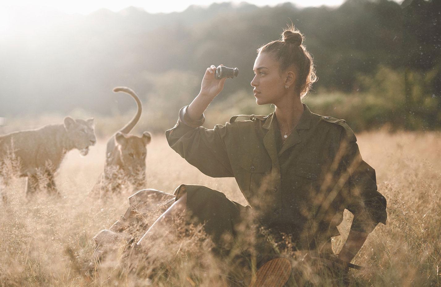 Модный показ в африканской саванне / фото 01