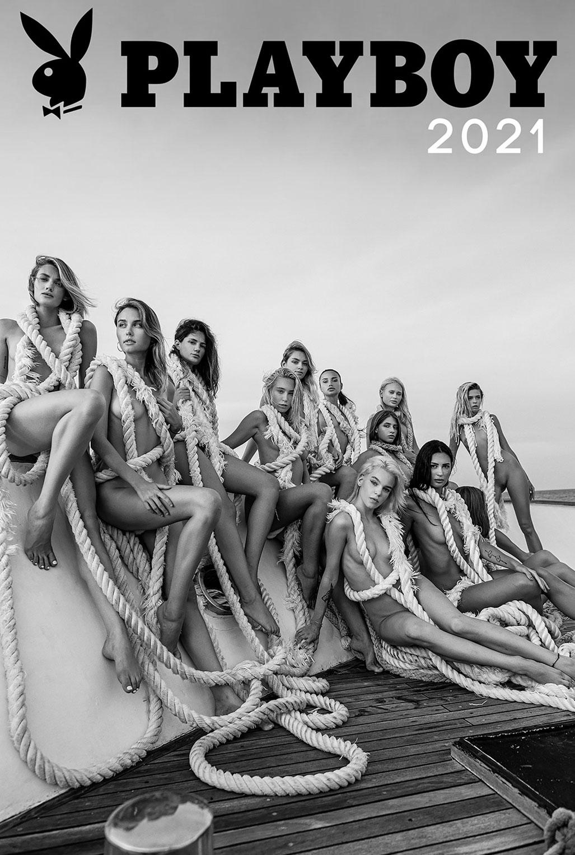 Эротический календарь журнала Playboy Украина на 2021 год / обложка