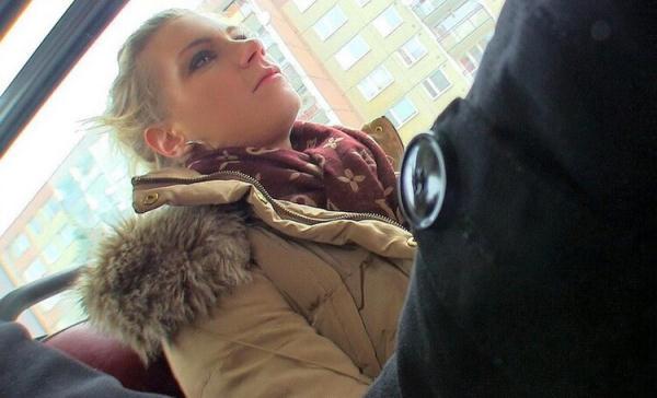Adele (aka Ally) - Sexy Bus Blonde [SD 480p] 2020