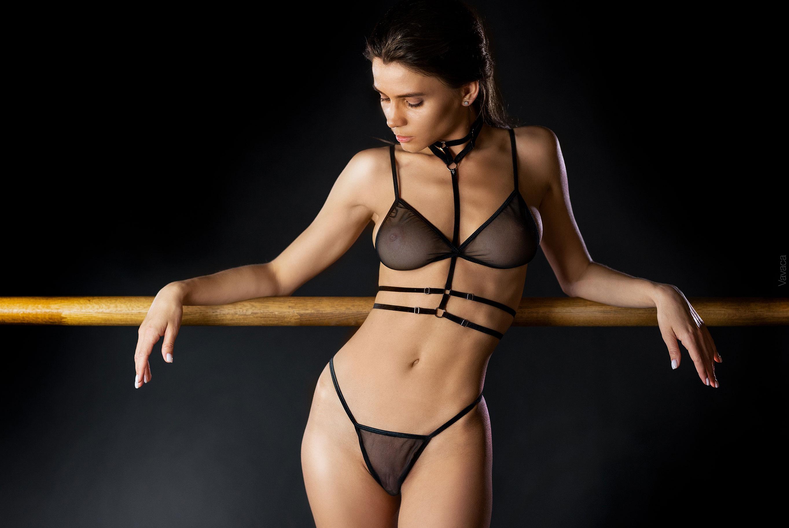 Кристина Макарова в гимнастическом зале / фото 02