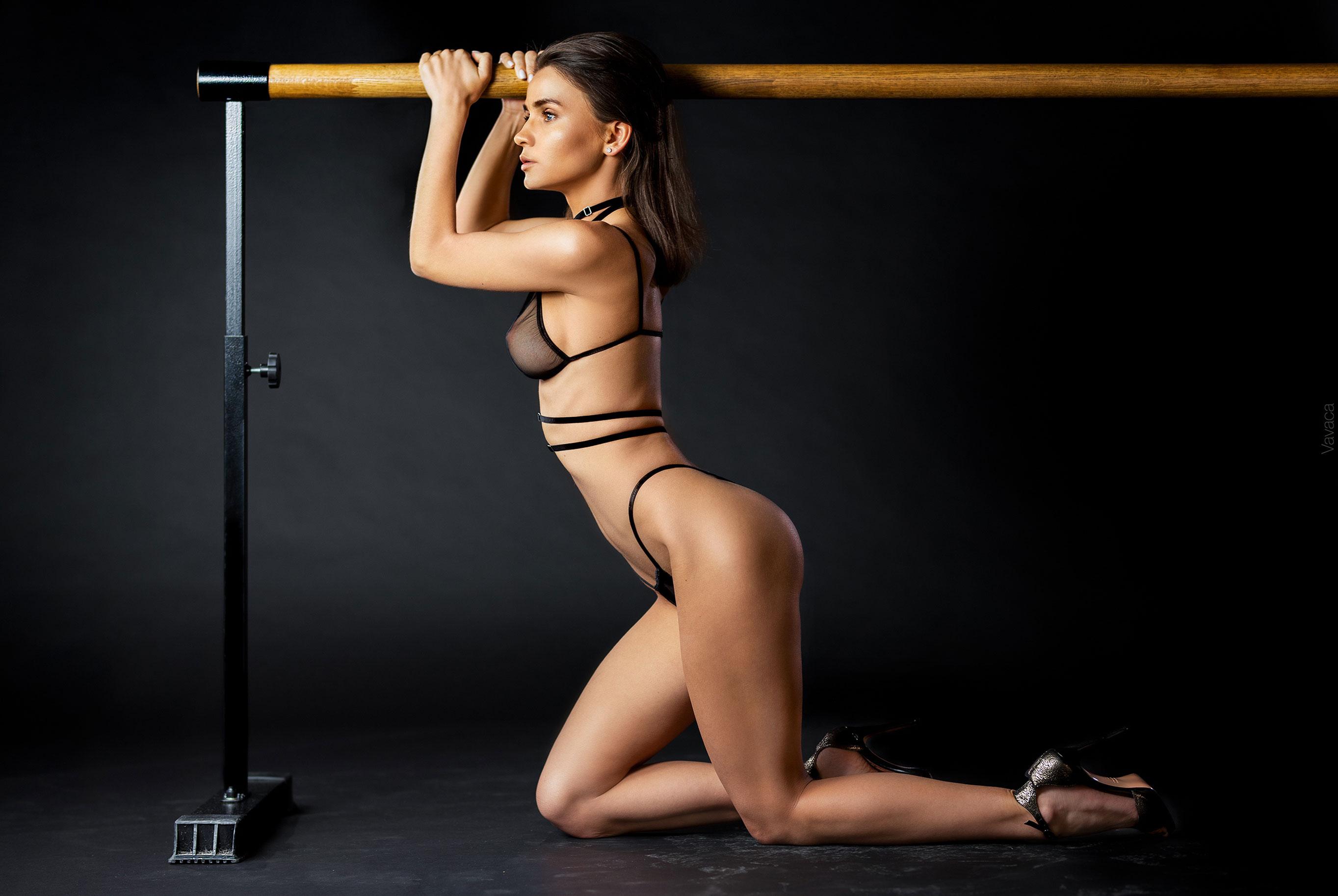Кристина Макарова в гимнастическом зале / фото 03