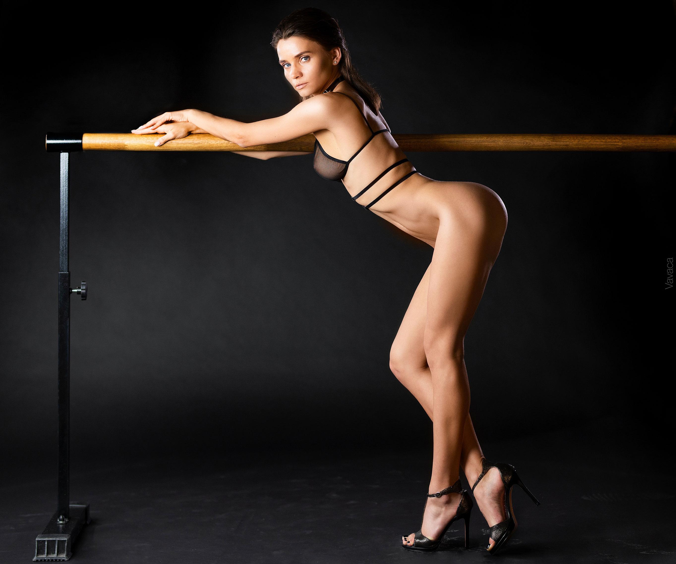 Кристина Макарова в гимнастическом зале / фото 05