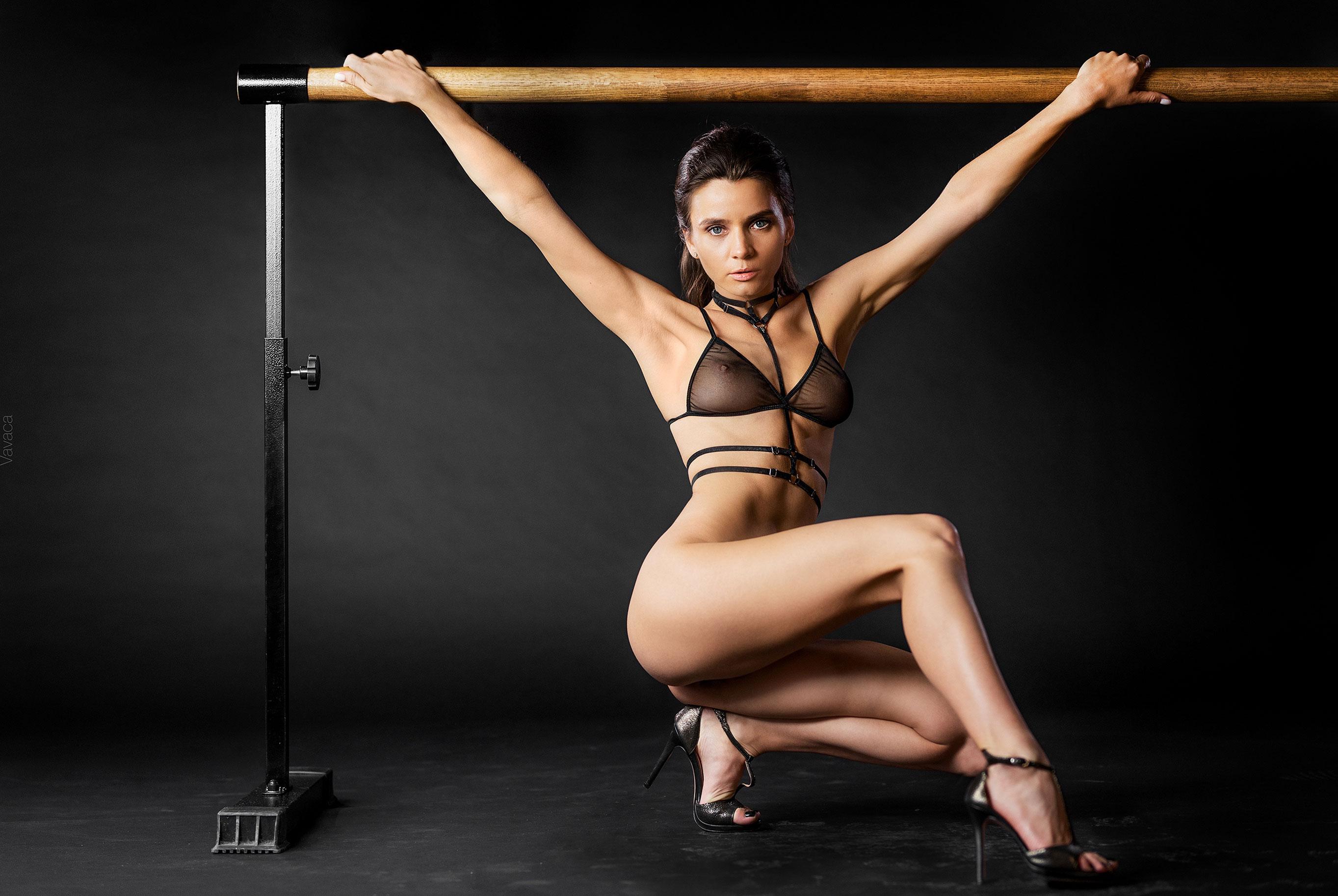 Кристина Макарова в гимнастическом зале / фото 06