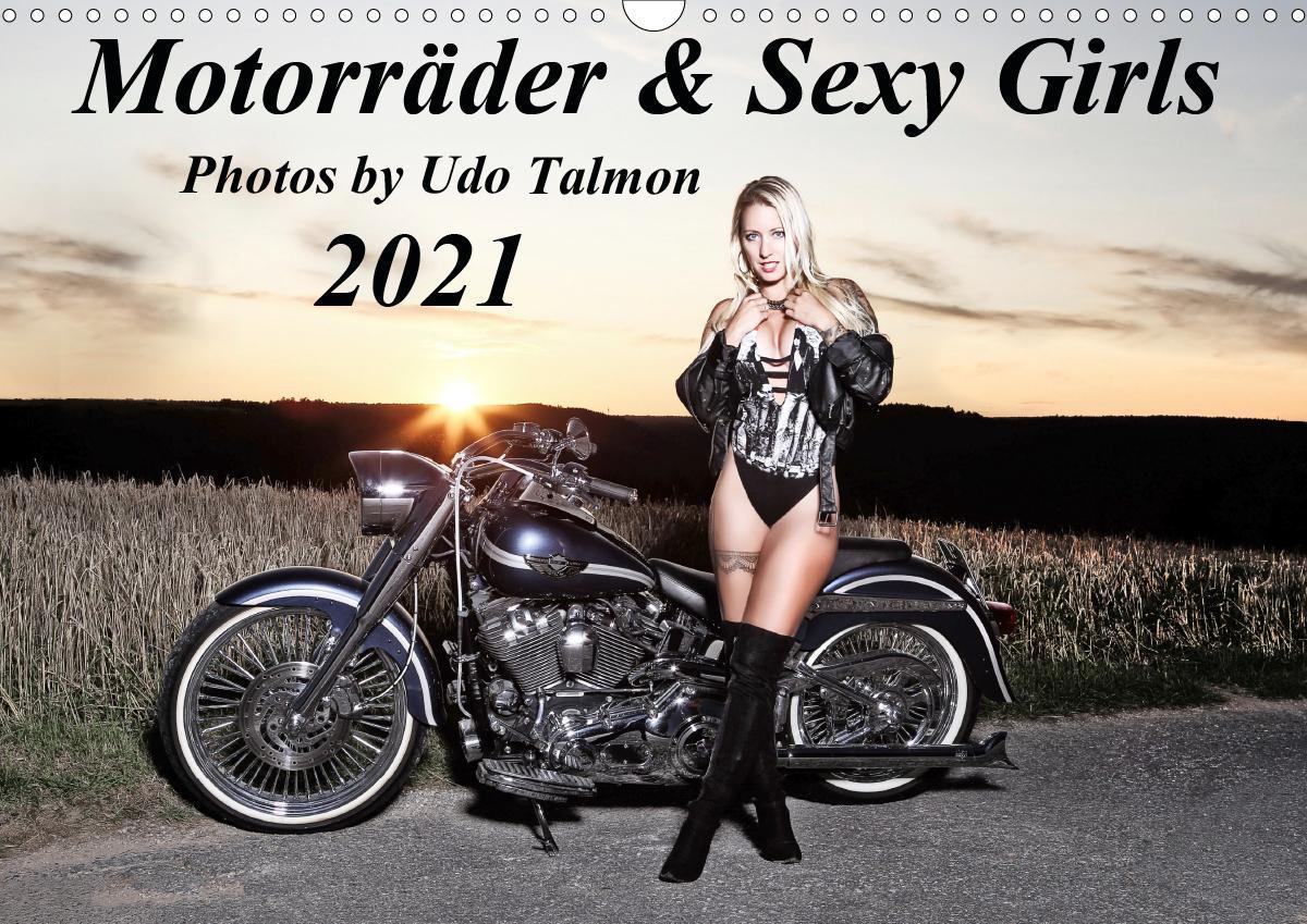 Motorrader & Sexy Girls 2021 Calendar