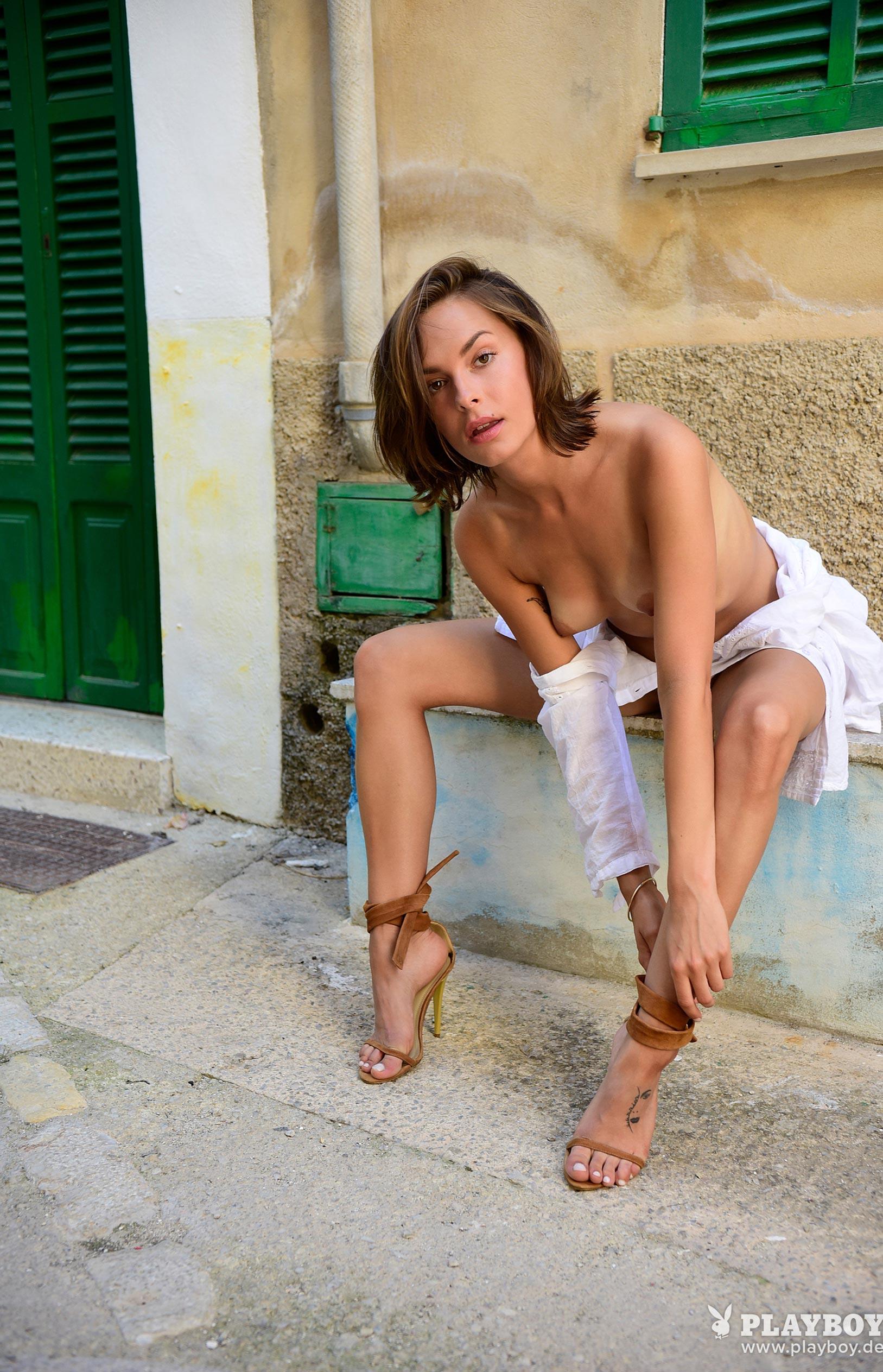 Оливия Пельцер - Девушка месяца Playboy Германия, сентябрь 2018 / фото 18