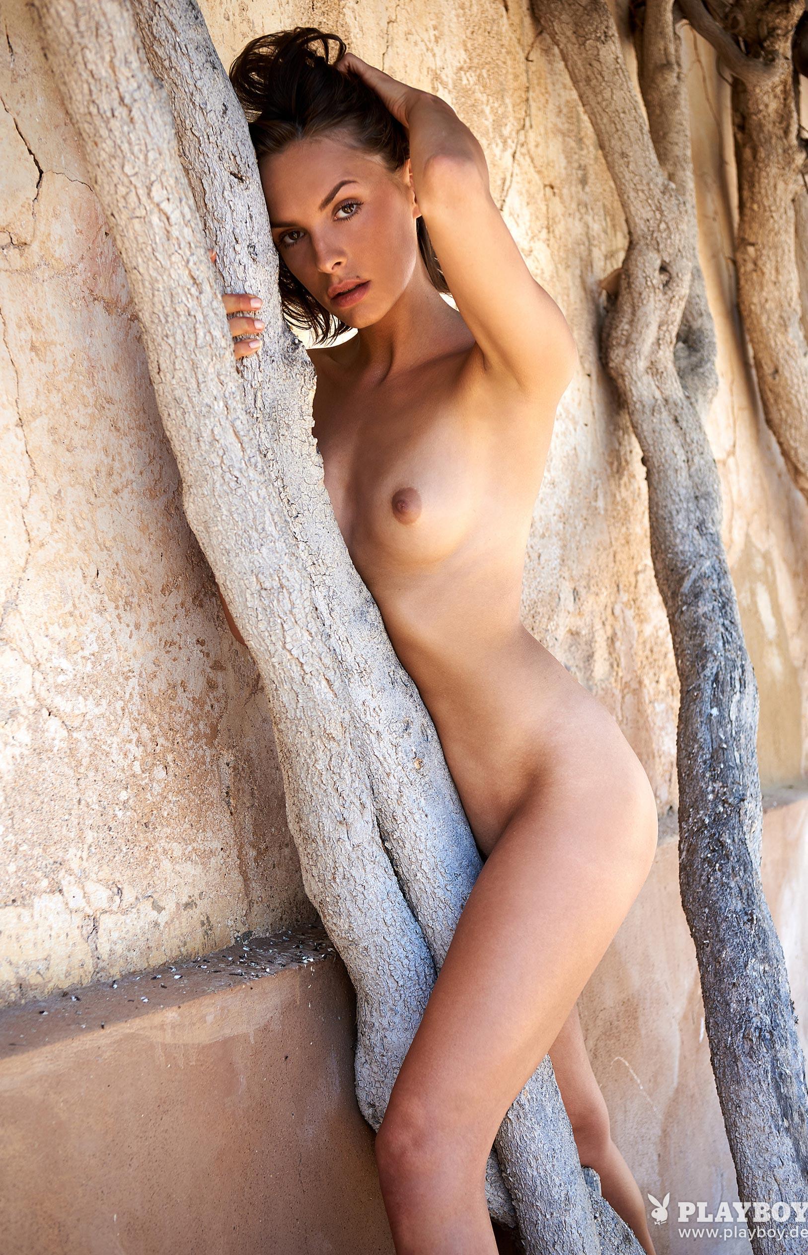 Оливия Пельцер - Девушка месяца Playboy Германия, сентябрь 2018 / фото 20