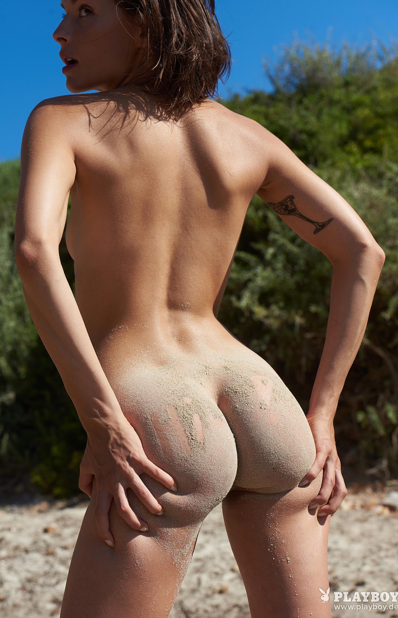 Оливия Пельцер - Девушка месяца Playboy Германия, сентябрь 2018 / фото 23