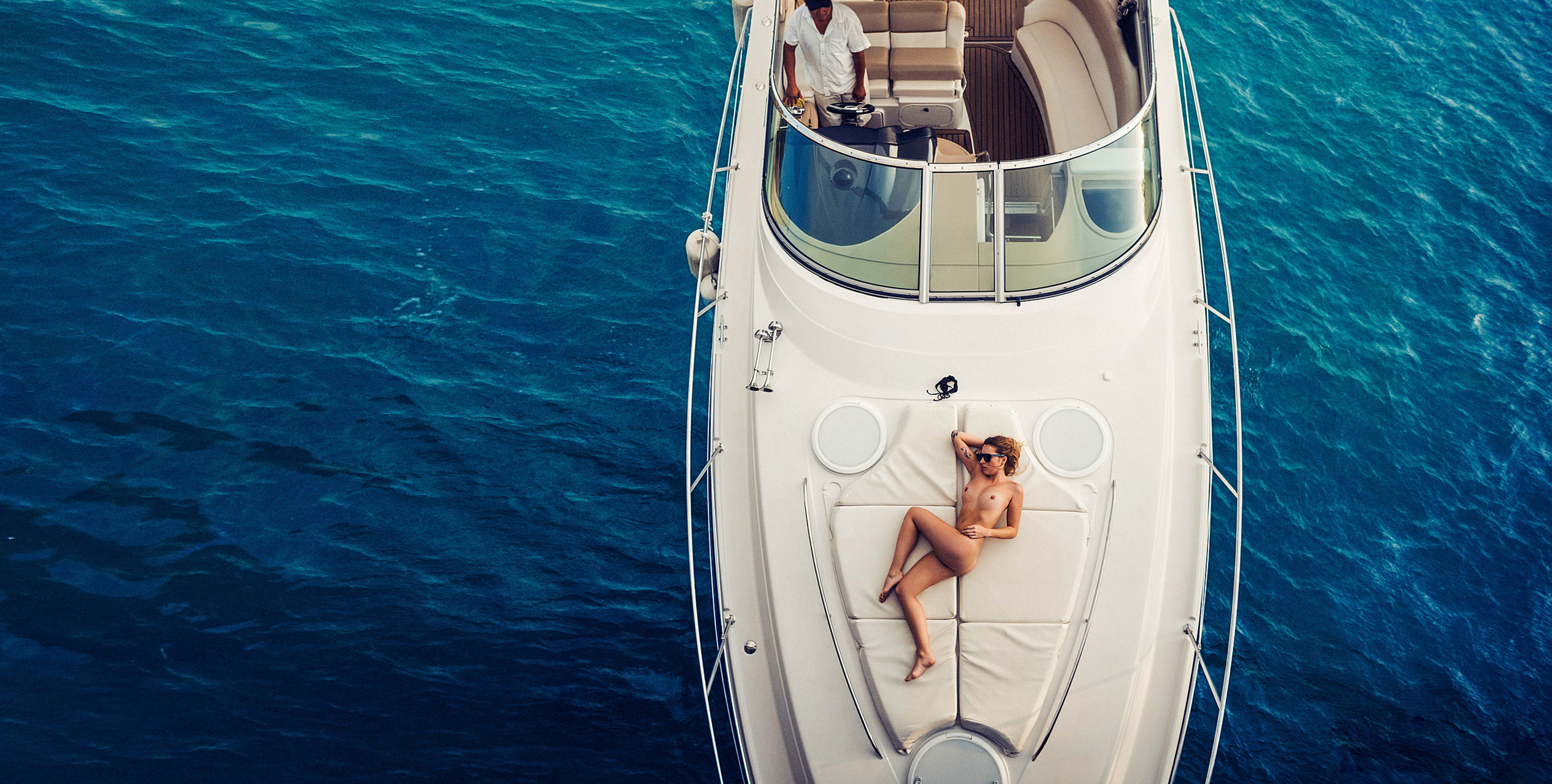 Каролина Паули на мексиканском острове Холбокс / фото 01