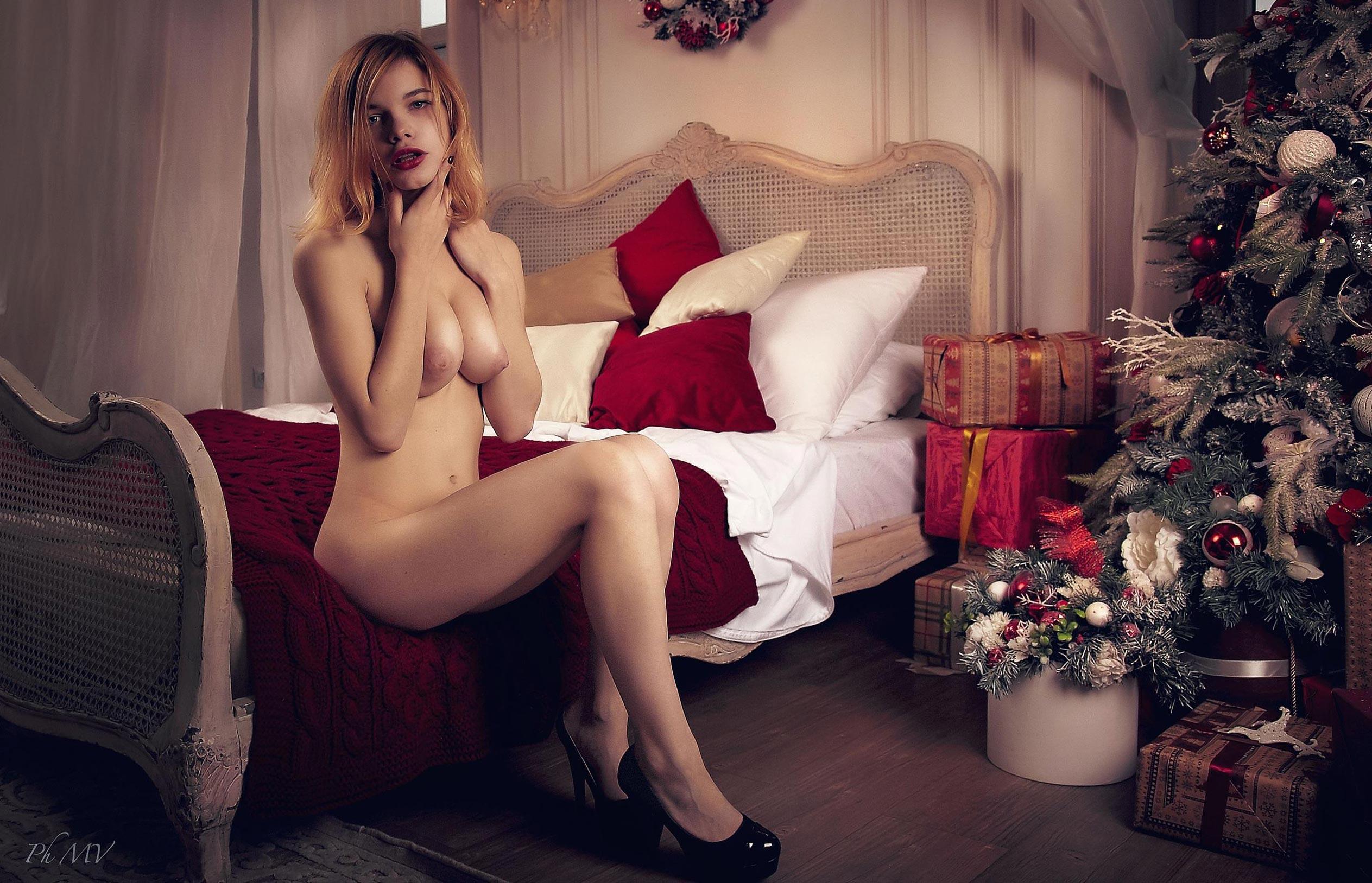 Мария Зайцева и новогодняя елка / фото 02