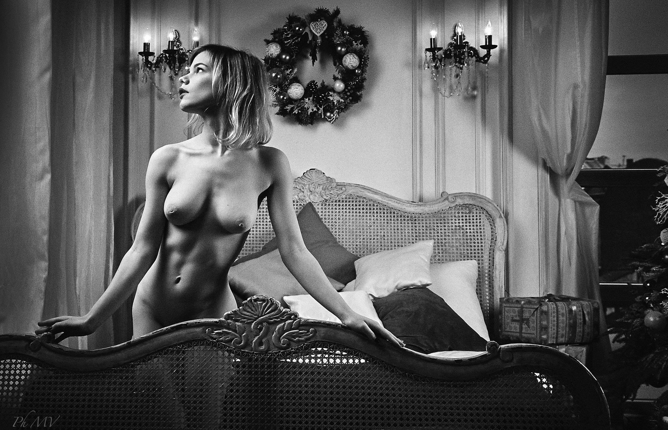 Мария Зайцева и новогодняя елка / фото 04