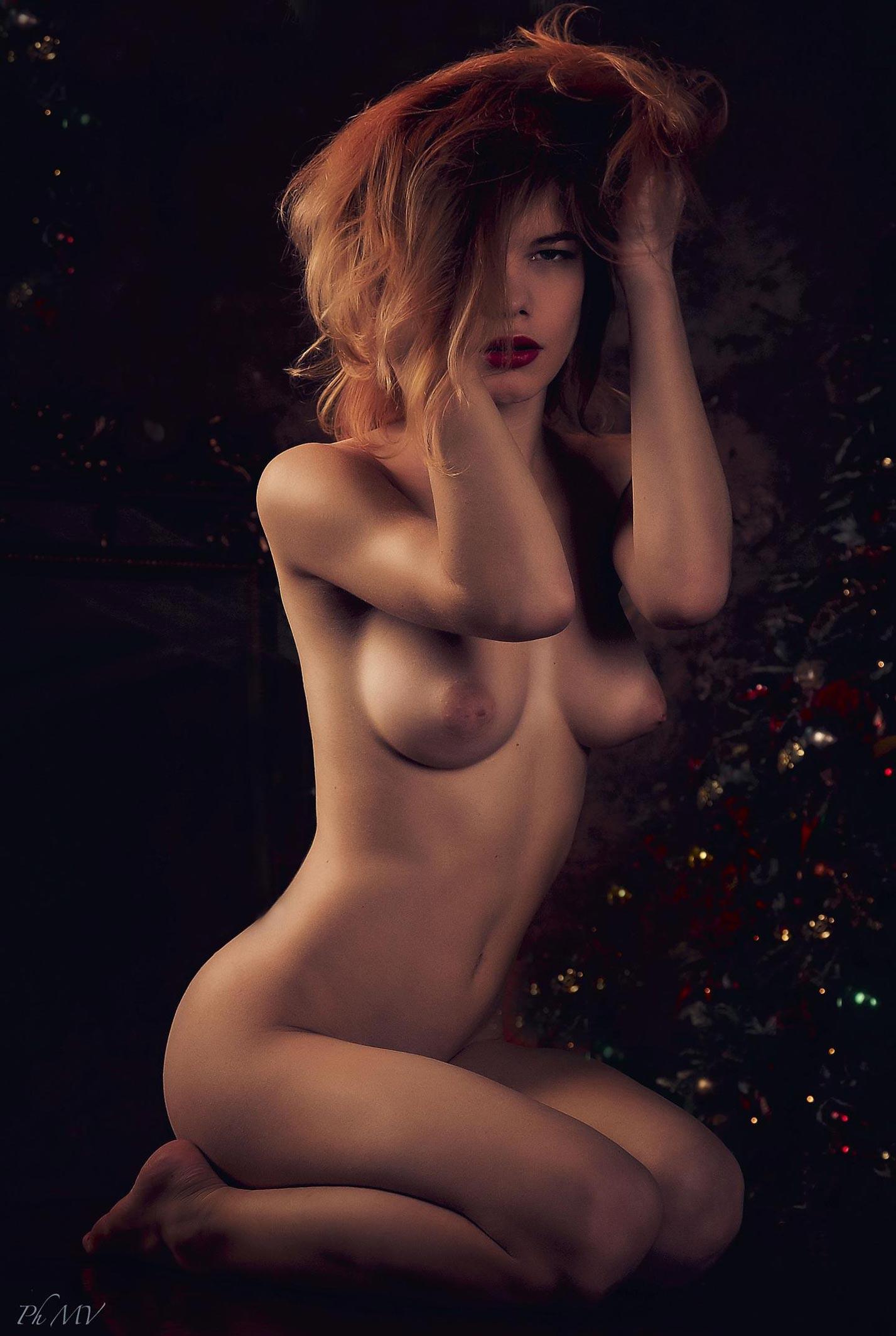 Мария Зайцева и новогодняя елка / фото 06